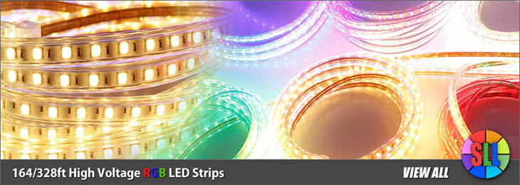 High Voltage RGB LED Strips