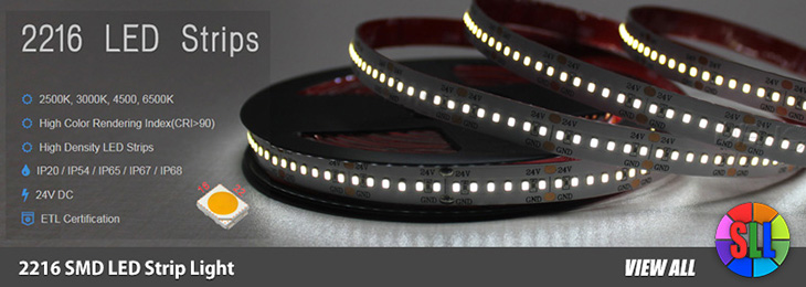 2216SMD Flexible LED Strip Lights