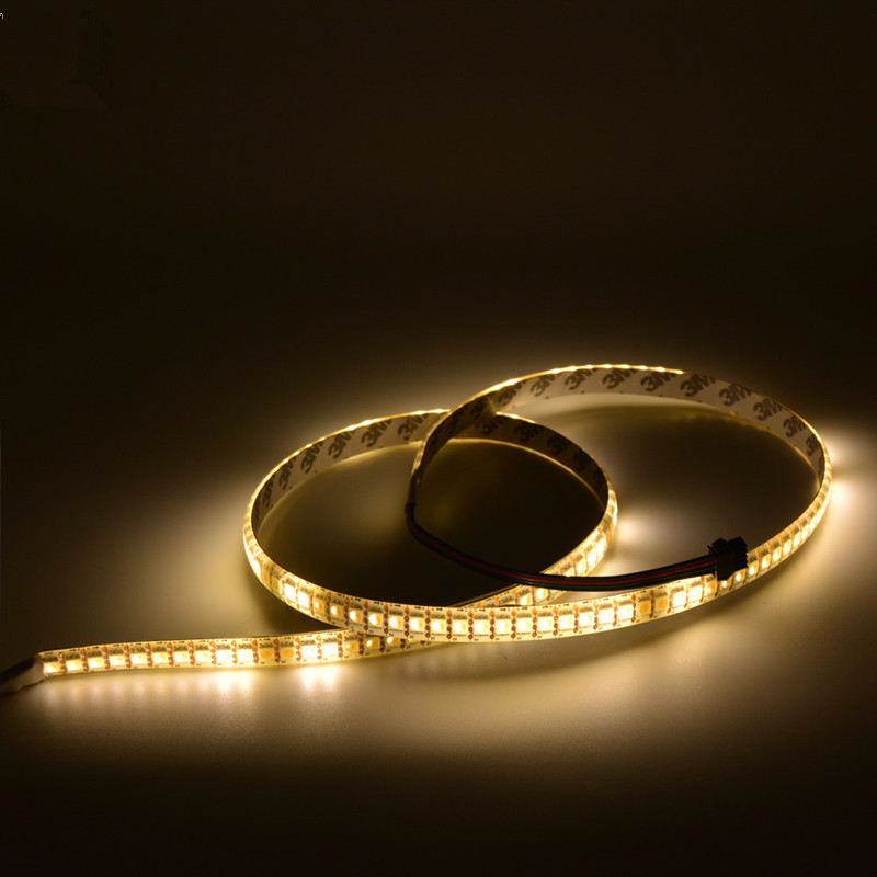 APA102 DC5V 144LEDs/m Warm White Programmable Led light Strip - 144 5050SMDs