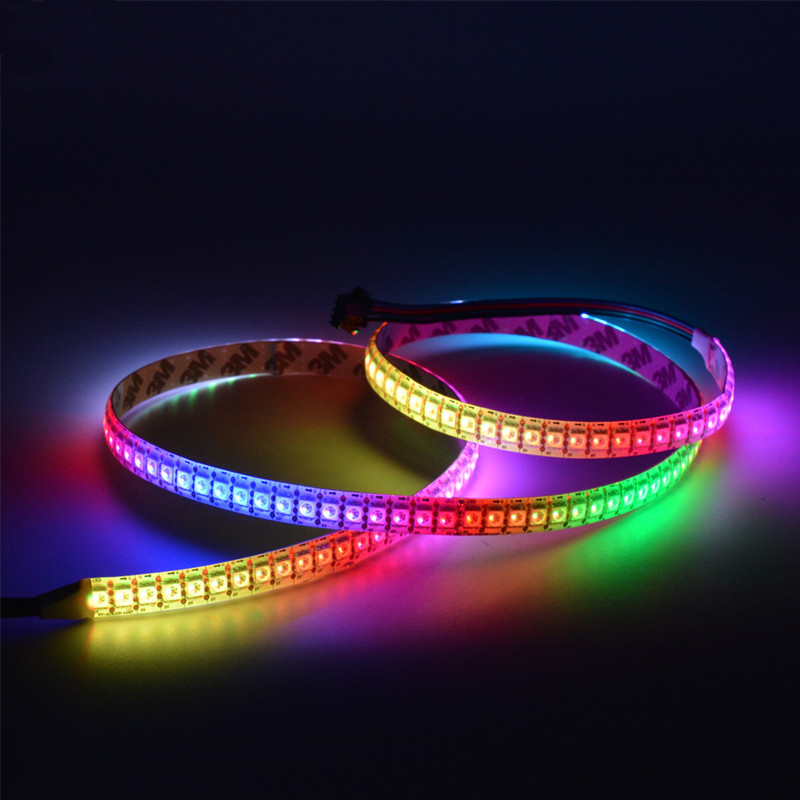 APA102 RGB DC5V 144LEDs/m Addressable RGB Led Strip - 144 5050SMDs