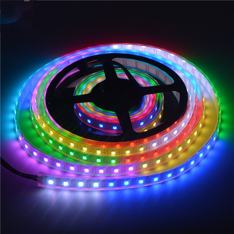 APA102 RGB DC5V 60 LEDs/m Multicolor Led Strip - Advertising Board