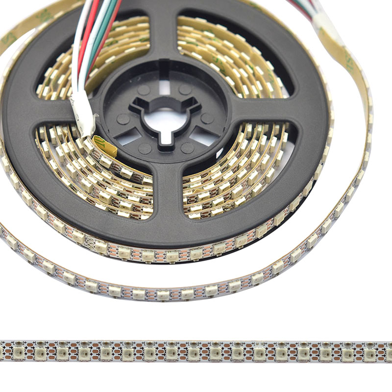 Ultra Slim 7mm wide SK6812 3535SMD Digital Intelligent Addressable RGB LED Strip Light, 60/m, 144/m Available