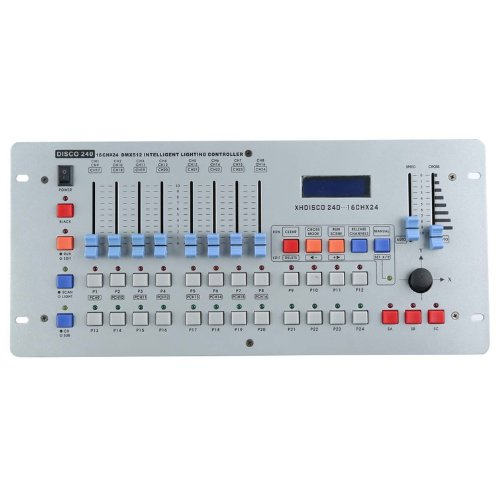 240 Channel DMX512 international DJ Lighting Disco Lighting Controller Console For LED Stage Light Mixing Desk,Customize lighting effects