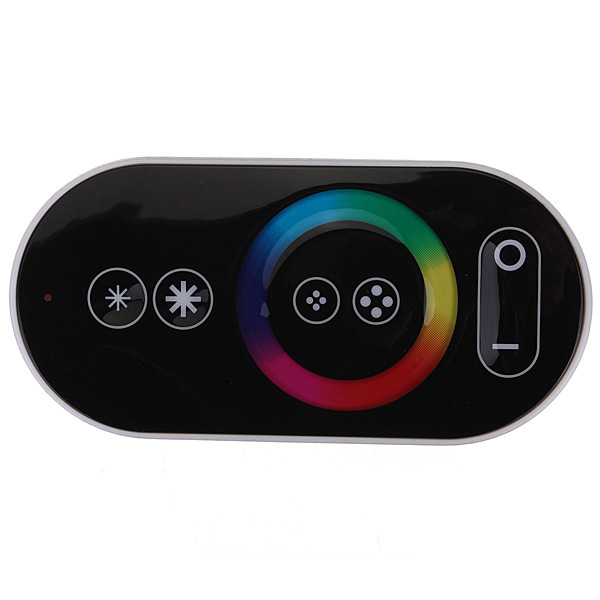 DC12/24V Max 18A 6A3CH, PWM 433Mhz Touch Panel LED RGB Wireless RF Remote Controller For Color Change Led Strips