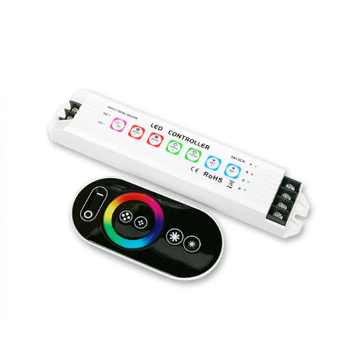 DC5/12/24V Max 15A 5A3CH, Home control High Quality Warranty 5 years LTECH Constant LED RGB Wireless RF Remote Controller For Led Strips