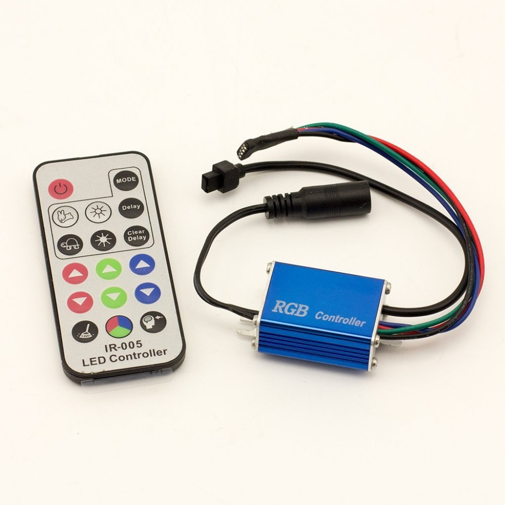 DC12/24V Max 12A 6A2CH, 17keys Waterproof IP65 LED RGB IR Wireless RF Remote Controller For RGB Color Change Led Tapte Lighting