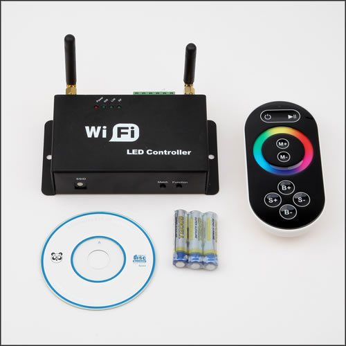 4Ax3CH, 2.4GHz WIFI RF Wireless Slave Controller Control Via IOS or Android Smart Phone Tablet PC Constant Current For SC,CCT,RGB LED Strips