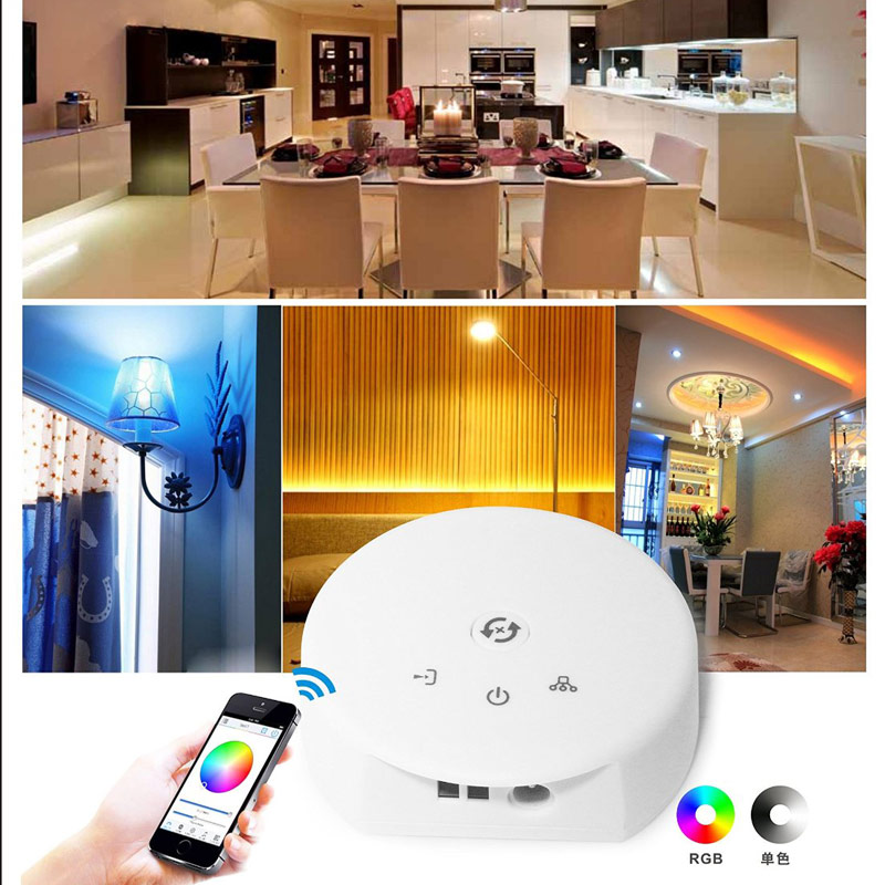 4Ax3CH, UFO WIFI controller Control Via IOS or Android Smart Phone Tablet PC Constant Current For RGB RGBW LED Light Strips