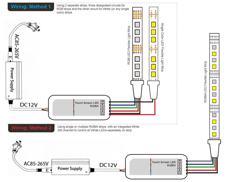 wiring diagram led light bar  | superlightingled.com