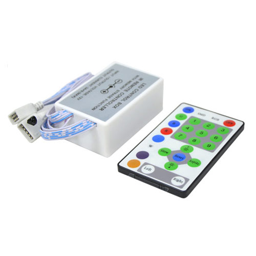 DC5/12/24V Max 27A 3Ax9CH, 10pin LED Horse Race Controller with 25keys IR Wireless Remote For RGB Marquee Strips light