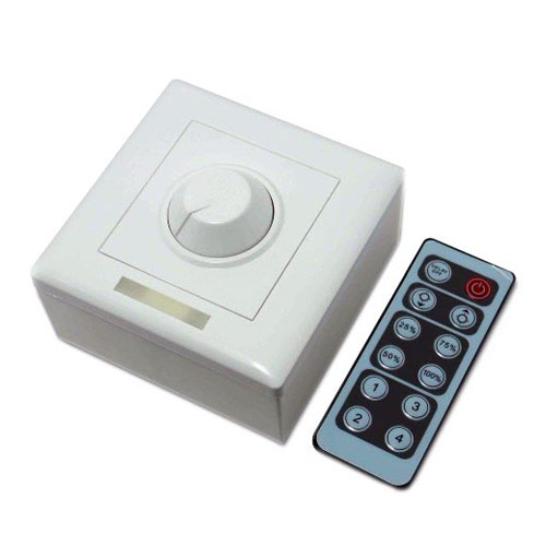 Universal Infrared 12-Key Triac Dimmer Knob PWM 0-10V Triac LED Dimmer Switch For Led Strips or E27 GU10 Dimmable
