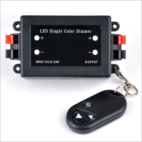 DC12/24V Max 8A , RF Radio Frequency Wireless Remote 3-Key Dimmer Controller for single color led lighting