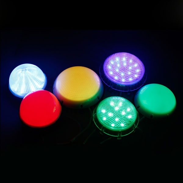DC24V 3.6W Diameter 0.49feet 18LEDs UCS1903 Outdoor Waterproof External control Strobe Full Color Digital Programmable DMX Addressable LED Colorful Pixel Moudles String