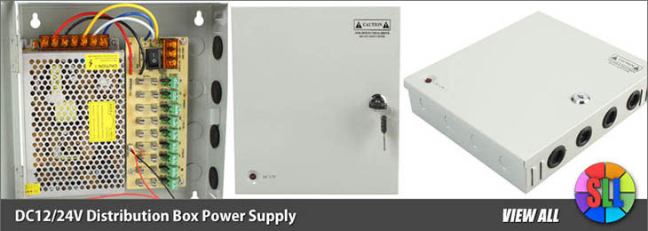 DC12/24V Distribution Box Power Supply