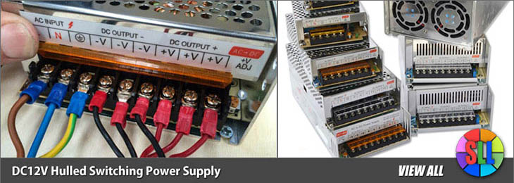 DC12V MeanWell Switching Power Supply