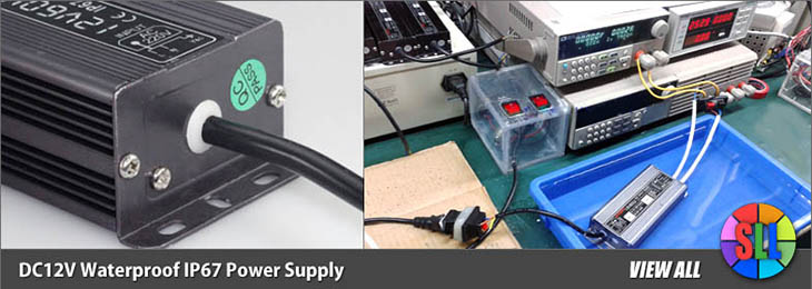 DC12V Waterproof Power Supply