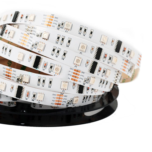 Lpd6803 dc12v series flexible led strip lights programmable pixel lpd6803 dc12v series flexible led strip lights programmable pixel full color chasing indoor use aloadofball Image collections