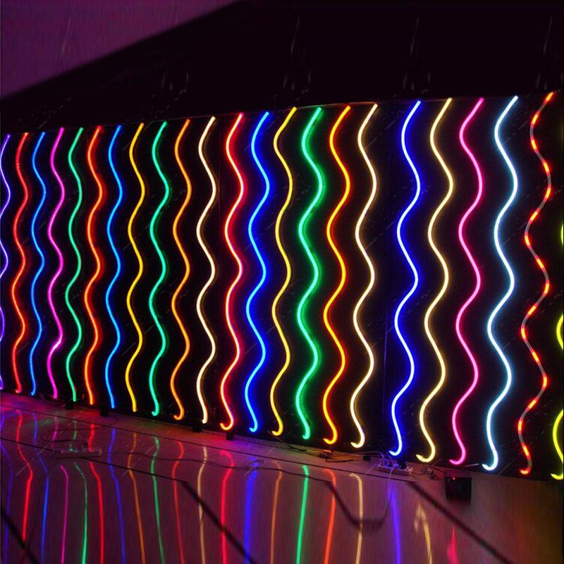 check out 74ba0 89b21 DC24V 65 Feet Flexible LED Neon Tube Light Waterproof IP67 ...