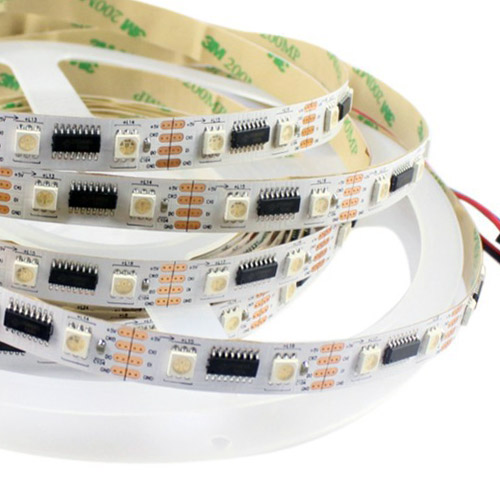 LPD8806 DC5V Series Flexible LED Strip Lights, Programmable Pixel Full Color Chasing, Indoor Use, 160LEDs 16.4ft Per Reel By Sale