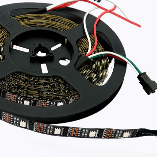 WS2801 DC5V Series Flexible LED Strip Lights, Programmable Pixel Full Color Chasing, Indoor Use, 160LEDs 16.4ft Per Reel By Sale