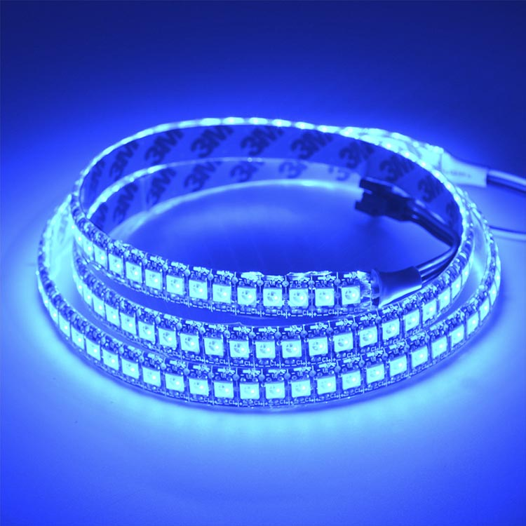 Ws2811 dc512v programmable led strip lights addressable digital ws2811 dc512v programmable led strip lights addressable digital full color chasing flexible led strips indoor use 288leds 656ft per reel by sale aloadofball Choice Image