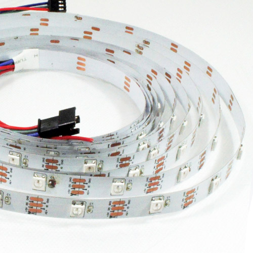 WS2812B DC5V Series Flexible LED Strip Lights, Programmable Pixel Full Color Chasing, Indoor Use, 150LEDs 16.4ft Per Reel By Sale