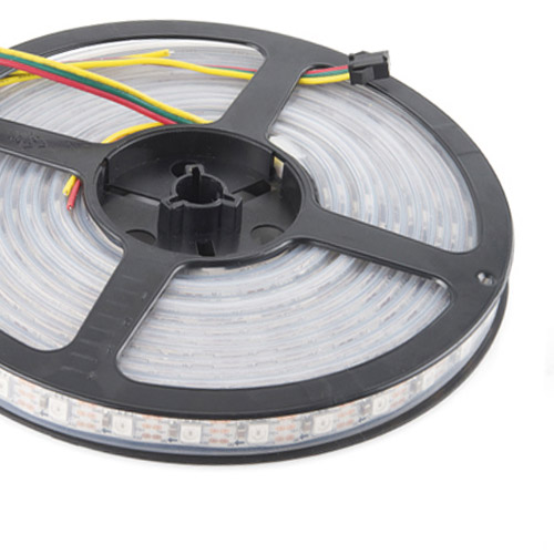 WS2801 DC5V Series Flexible LED Strip Lights, Programmable Pixel Full Color Chasing, Outdoor Waterproof IP67, 300LEDs 16.4ft Per Reel By Sale