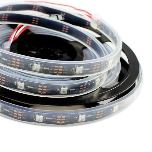 Ws2811 dc512v programmable led strip lights addressable digital ws2811 dc512v programmable led strip lights addressable digital full color chasing flexible led aloadofball