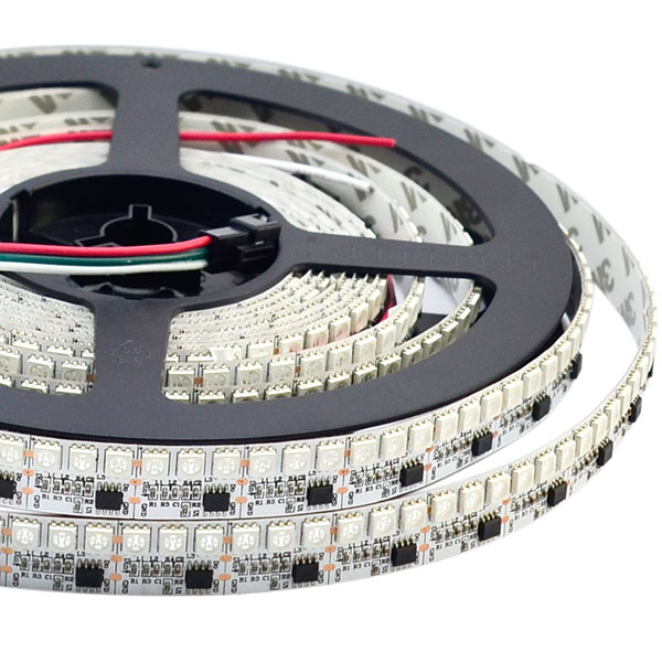 WS2811 DC12V 44LEDs/Ft Programmable LED Strip Lights, Addressable Flexible LED Light Strips, LED Christmas Holiday Lights,288LEDs 5.65Ft Per Roll