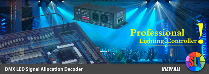Signal Allocation DMX512 Decoder Series