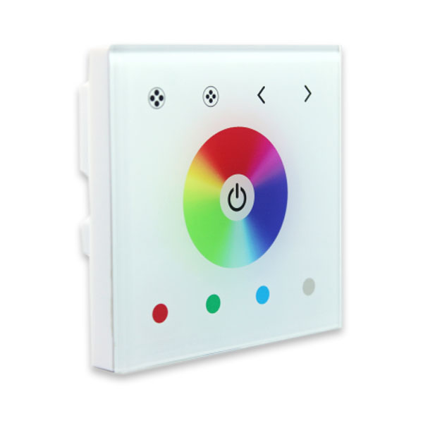 DC12-24V 3 Channels common mode Touch panel controller to control point source of light,flexible light strip, wall washer lamp, glass curtain wall light