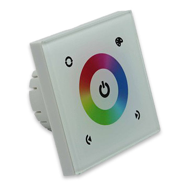 Dc12 24v 3 Channel Gl Panel Design Touch Controller Ly For Outdoor Led Lighting