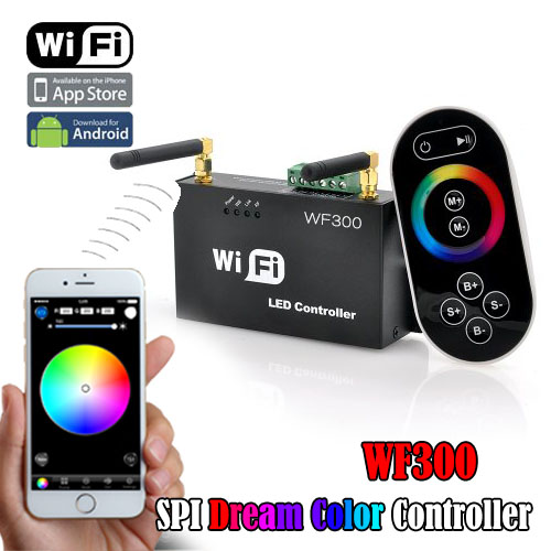 Hot sell LED-WiFi controller use mobile control led lighting within building can control more than 50m, in outdoor can control more than 100m