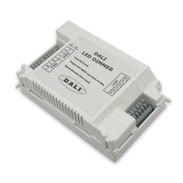 LN-DALI-DIMMER-3CH-DCxV precise dimming, addressable Digital Addressable Lighting Interface check the current status of LED widely used in led lighting systems , bar and theater lighting systems