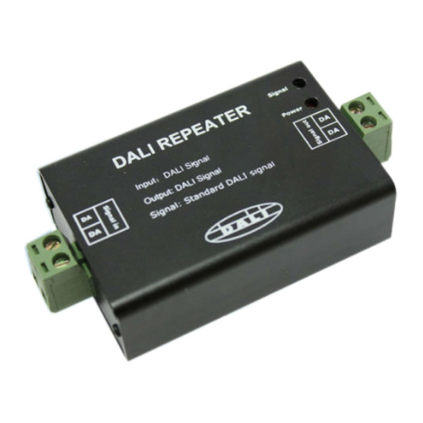 Popular and hot-selling DALI repeater Standard DALI signal , expand DALI signal transmission distance hot used in led lighting systems , outdoor dancing led lighting