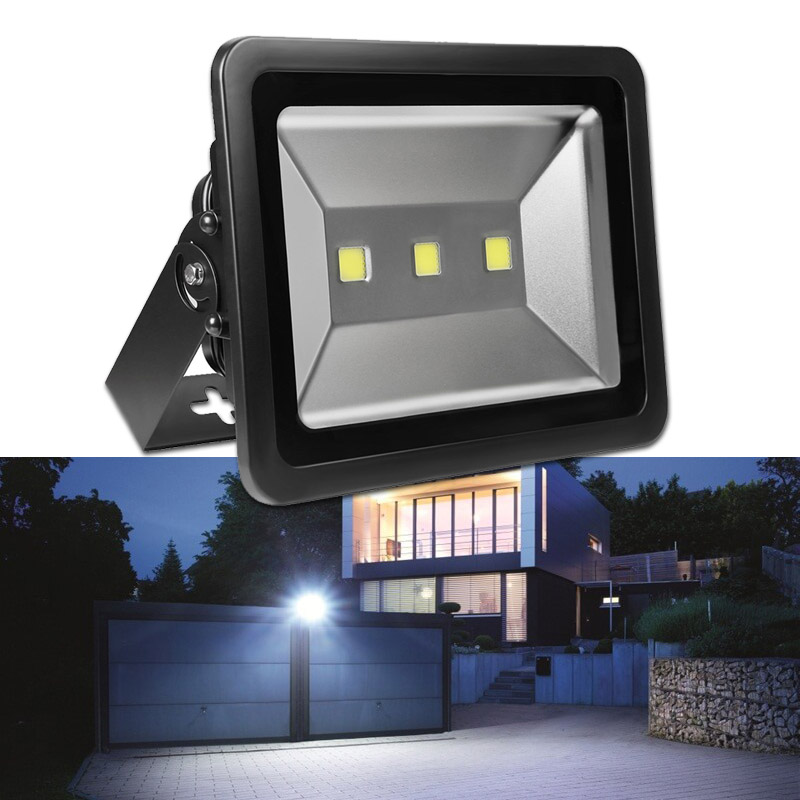 AC110V 10-600W LED Flood Lights, Super Bright Outdoor LED Flood Lighting, Daylight White 6000K, Industrial Commercial Garden Wall Lighting