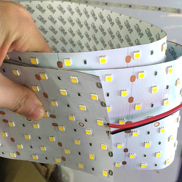Seven Rows The World's Brightest Engineering lighting DC24V 5050SMD 320LEDs Width 0.39ft Flexible LED Strips 3.28 Per Reel Sample