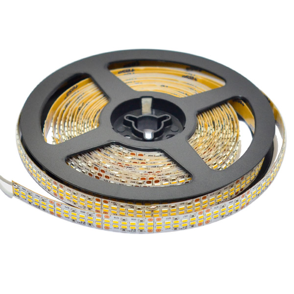Dual Row Super Bright Narrow Series DC24V 3014SMD 2400LEDs Flexible LED Strip Lights Industrial Lighting 16.4ft Per Reel By Sale
