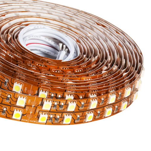 Double Row Super Bright Series DC24V 5050SMD 600LEDs Flexible LED Strip Lights Business Lighting 16.4ft Per Reel By Sale