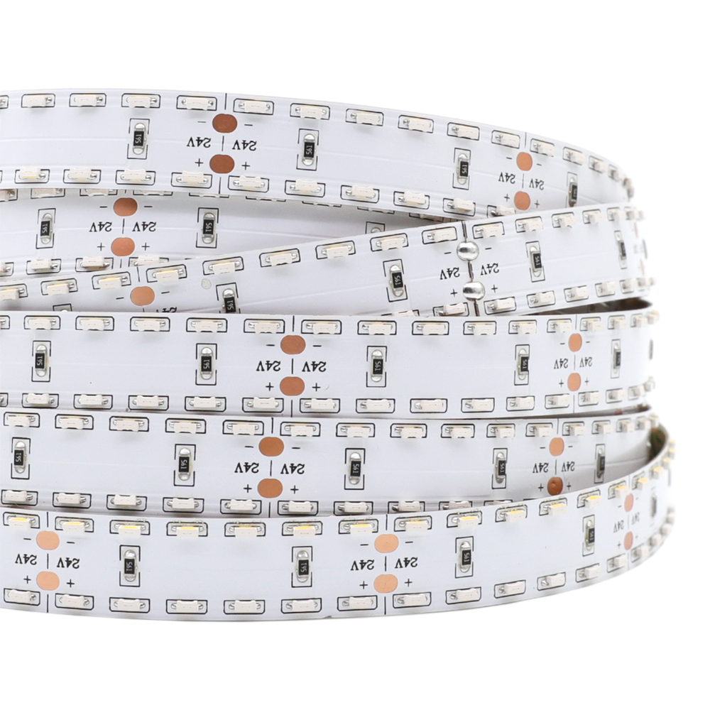 Double Row Side Emitting Series DC24V 335SMD 1200LEDs Flexible LED Strip Lights Industrial Lighting 16.4ft Per Reel By Sale