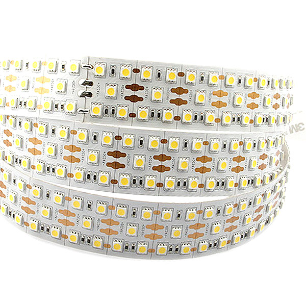 Triple Rows Super Bright Series DC24V 5050SMD 1000LEDs Flexible LED Strip Lights Width 58mm 16.4ft Per Reel By Sale