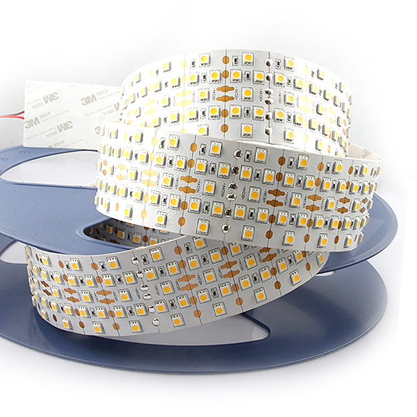 Five Rows Super Bright Series DC24V 5050SMD 1400LEDs Flexible LED Strip Lights Width 58mm 16.4ft Per Reel By Sale