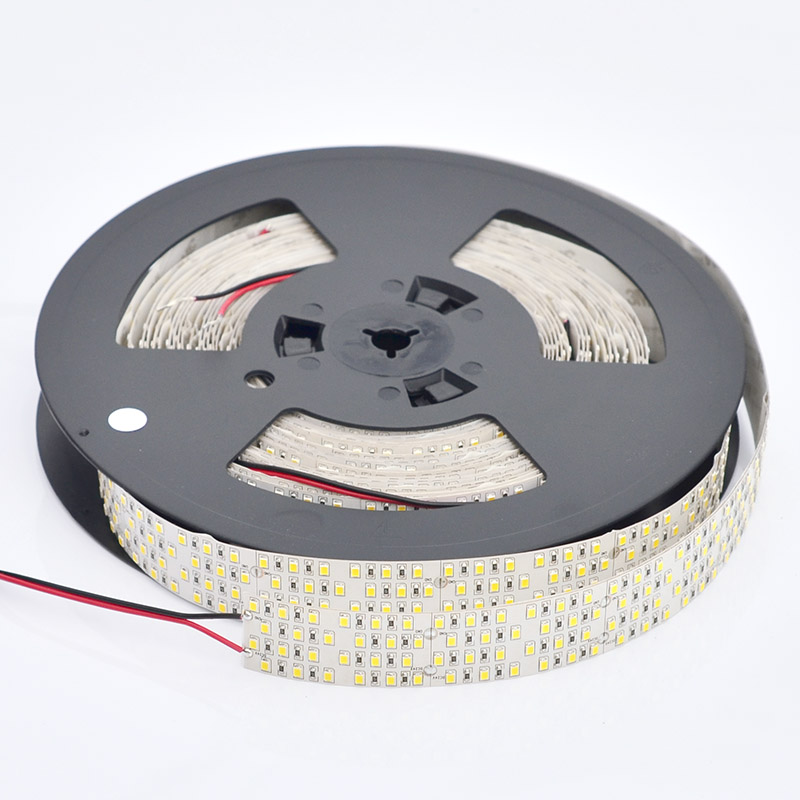 Bright LED Strip Lights - Custom Length Quad Row LED Tape Light with 117 SMDs/ft. - 1 Chip SMD LED 2835