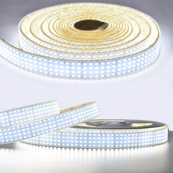 Daylight Strip Lights Quad row waterproof ip67 led tape lights 1170lmft dc24v cri quad row waterproof ip67 led tape lights 1170lmft dc24v cri 95 outdoor use super bright leds daylight white led strip lights audiocablefo