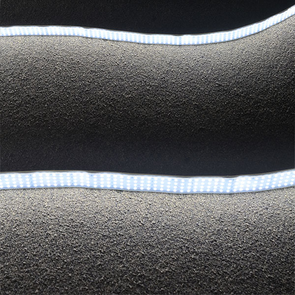 Quad Row Waterproof IP67 LED Tape Lights - 1,170LM/Ft - DC24V - CRI 95 -  Outdoor Use Super Bright LEDs Daylight White LED Strip Lights.