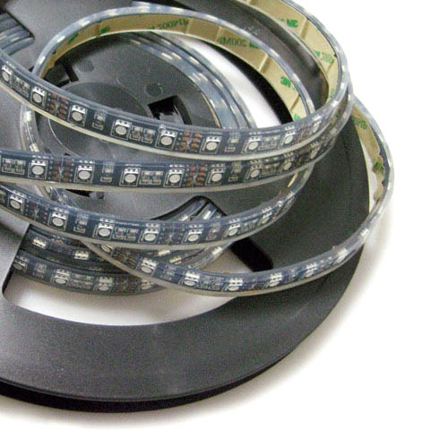 Single Row Super Bright RGB Series DC12&24V 5050SMD 300LEDs Flexible Highest Waterproof IP68 LED Strip Lights 16.4ft Per Reel By Sale