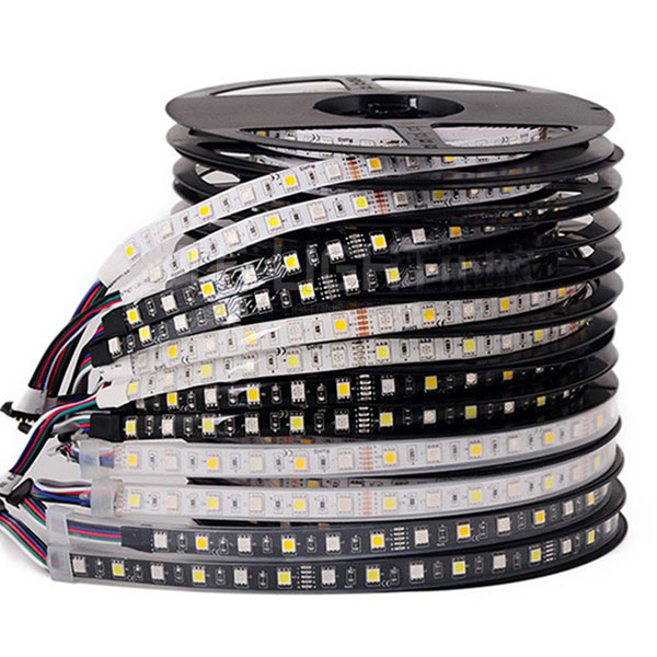 RGBW Super Bright Series DC12/24V 5050SMD 300LEDs Flexible  LED Strip Lights Waterproof Optional 16.4ft Per Reel By Sale