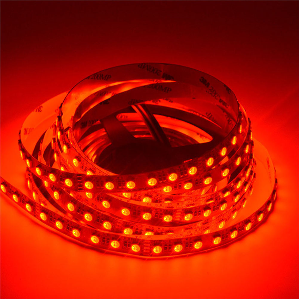 RGBW Super Bright  4 Colors in 1 Series DC12&24V 5050SMD 300LEDs Flexible  LED Strip Lights Waterproof Optional 16.4ft Per Reel By Sale