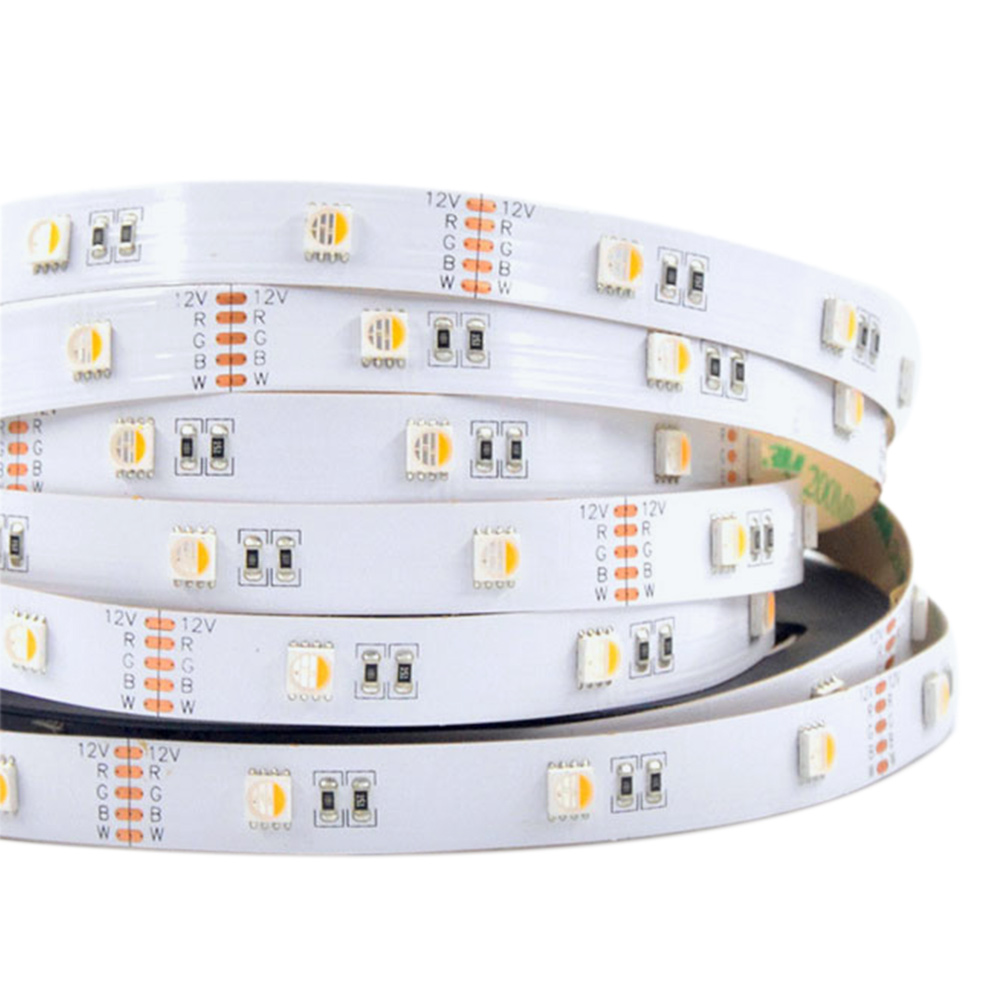 RGBW Super Bright 4 Colors in 1 Series DC12&24V 5050SMD 150LEDs Flexible LED Strip Lights Waterproof Optional 16.4ft Per Reel By Sale