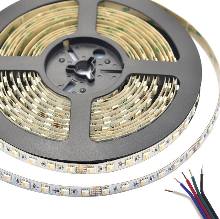 RGBW Super Bright 4 Colors in 1 Series DC12/24V 5050SMD 420LEDs Flexible LED Strip Lights Waterproof Optional 16.4ft Per Reel By Sale
